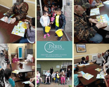 Easter Extravaganza at Paris Healthcare Center