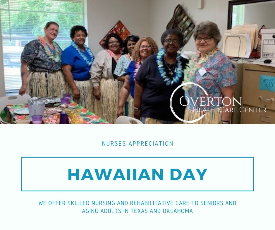 Hawaiian and Colada for the Nurses at Overton