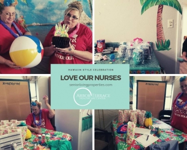 Celebrating our nurses at Arbor Terrace