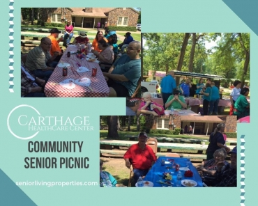 Community Senior Picnic at Carthage Healthcare Center