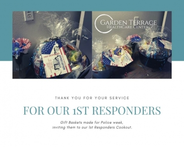 Gift Baskets for our 1st Responders!